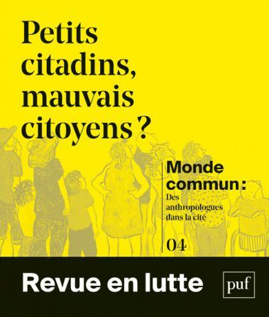 couverture du numéro 4 - Petits citadins, mauvais citoyens?